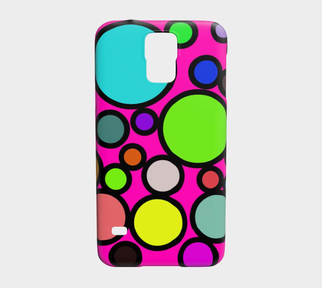 Circles Galore Samsung Galaxy S5 Case preview #1