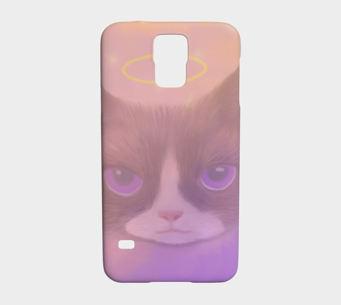 Cosmic Cat Samsung Galaxy S5 Case preview #1