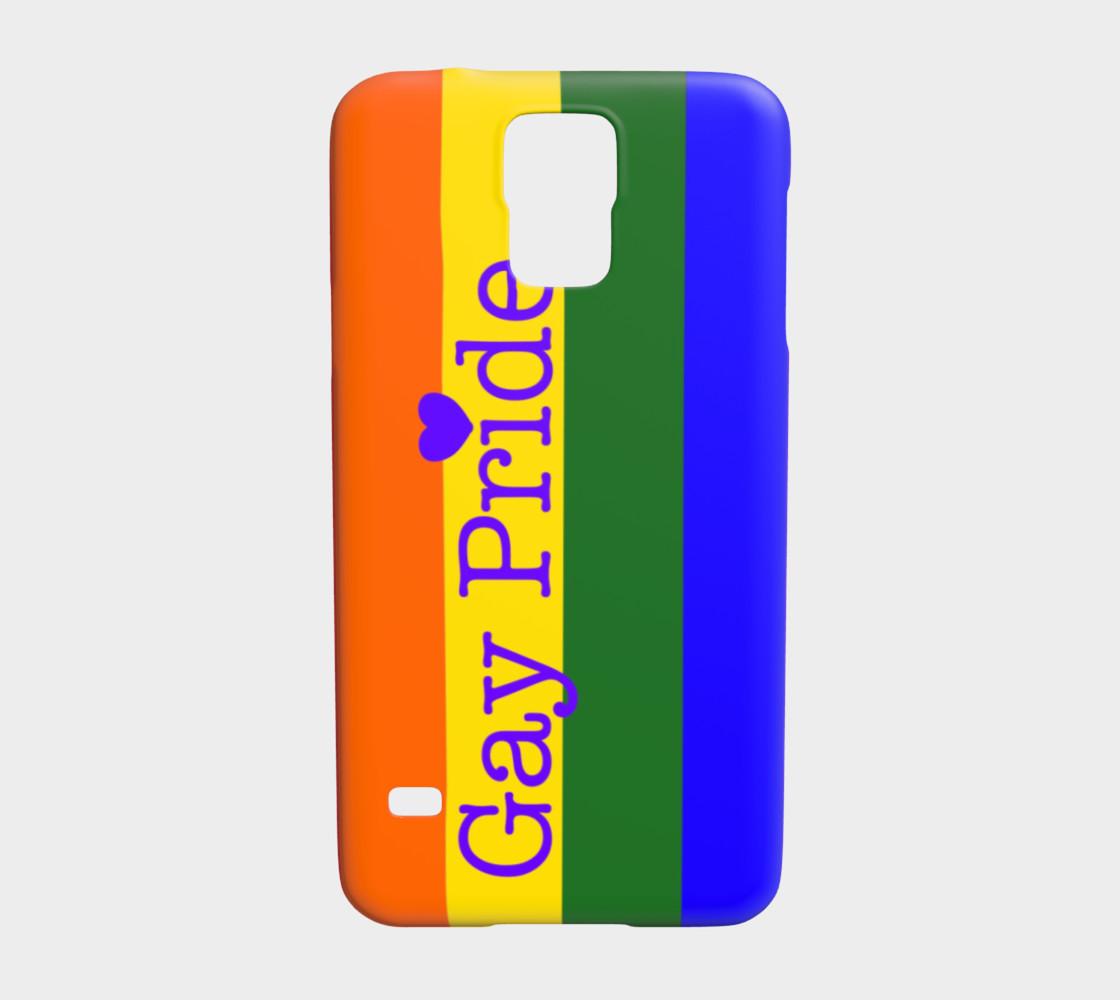 Gay Pride Love Samsung Galaxy S5 Case preview #1