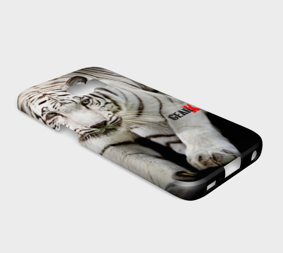 Aperçu de White Tiger Galaxy S6 Edge Case by GearX #2