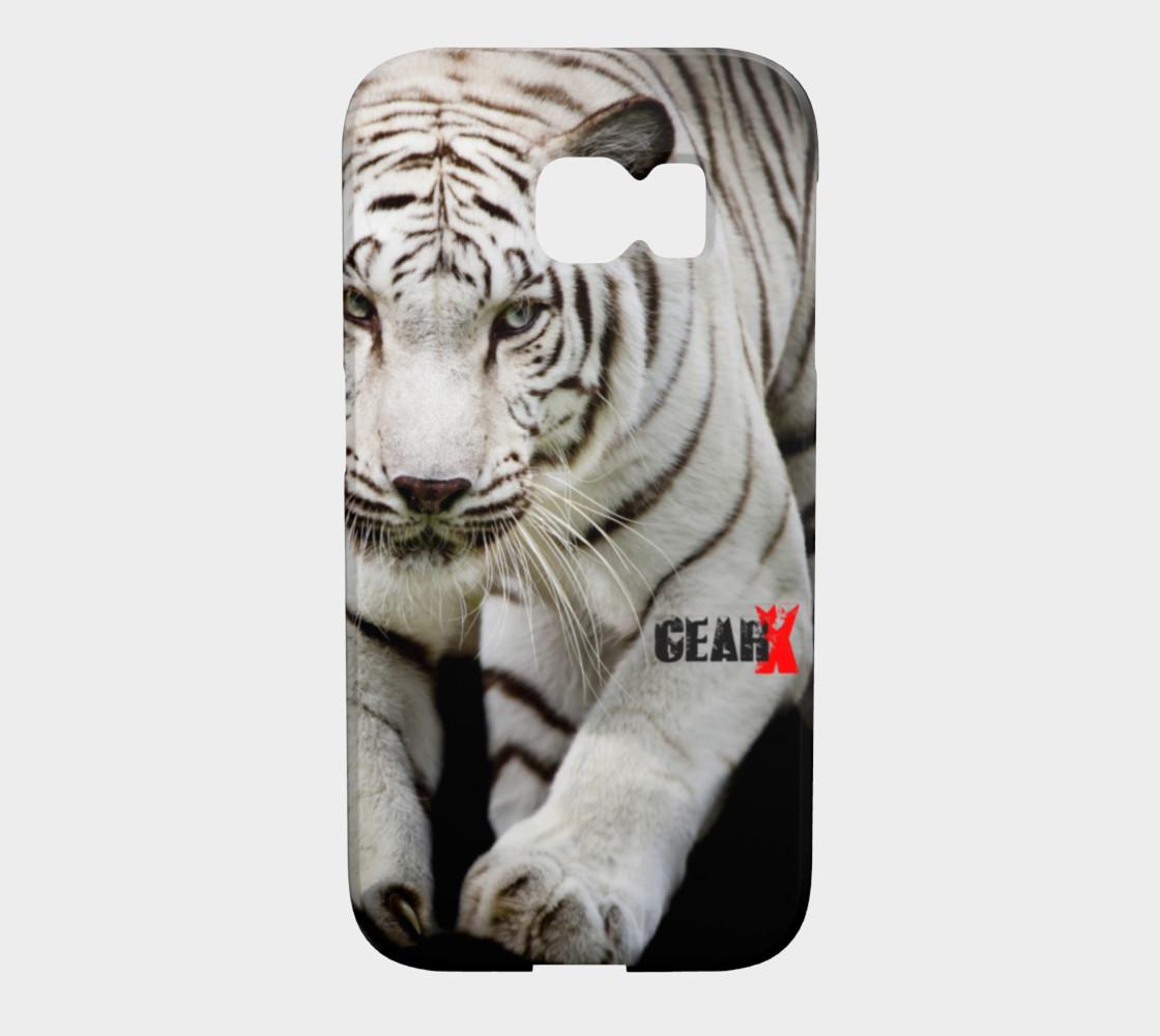 Aperçu de White Tiger Galaxy S6 Edge Case by GearX #1