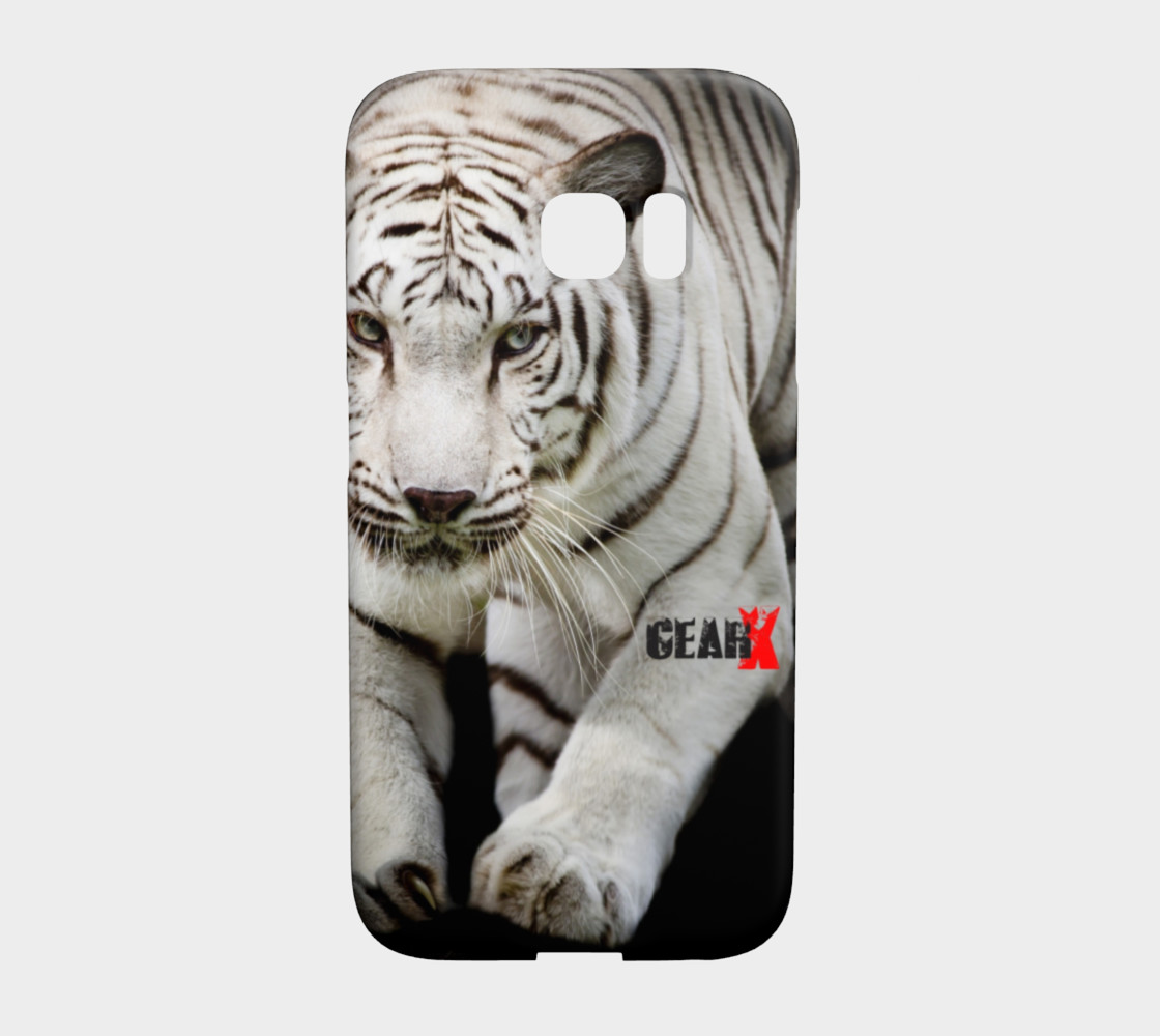 Aperçu de White Tiger Galaxy S7 Edge Case by GearX #1