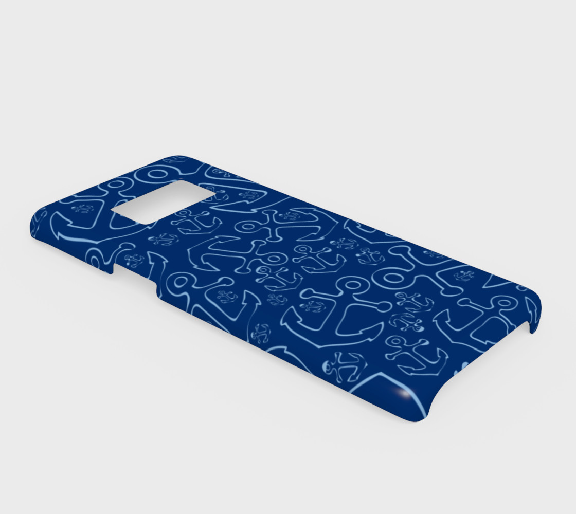 Anchor Dream - Blue on Navy preview #2