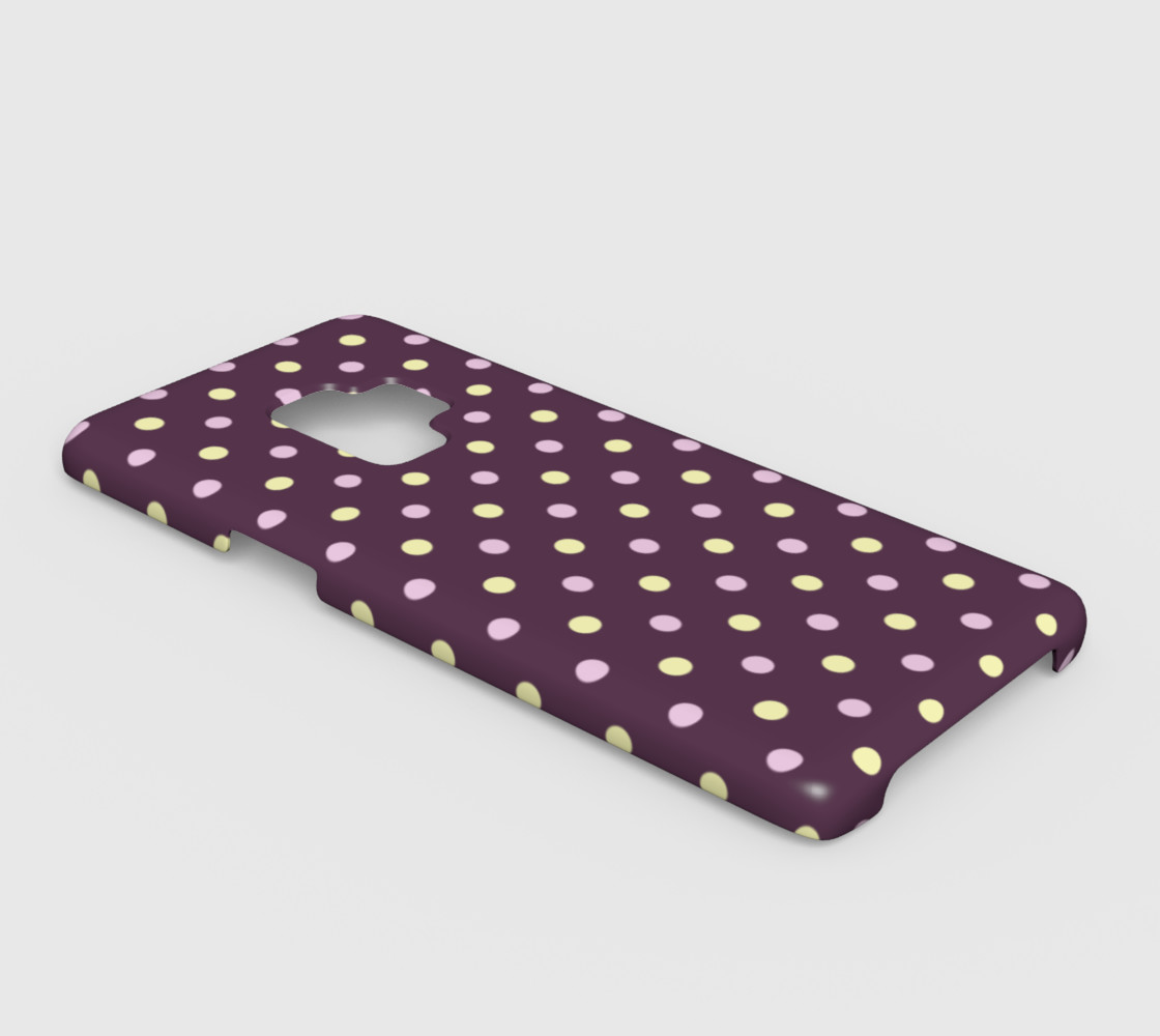 Polka Dots Galaxy S9 Case preview #2