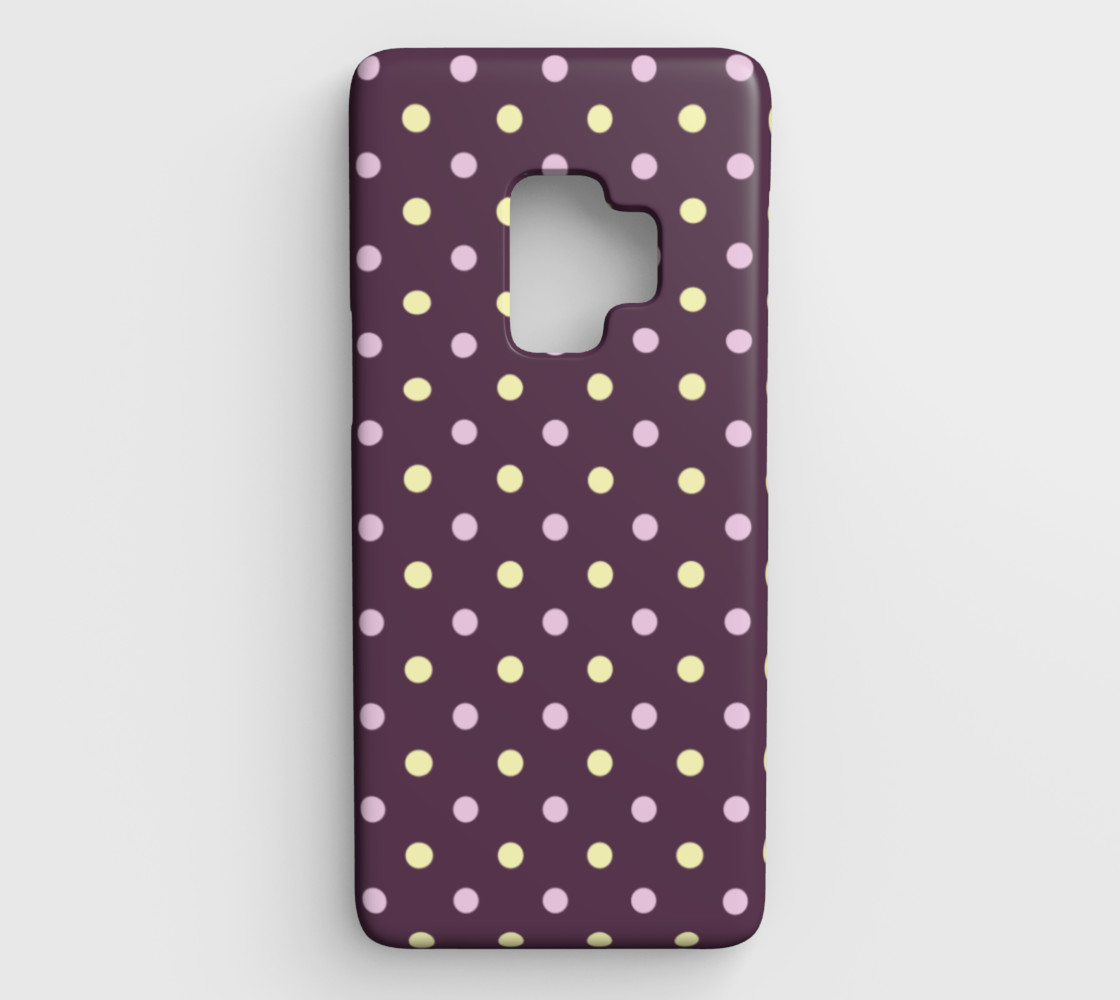Polka Dots Galaxy S9 Case preview #1