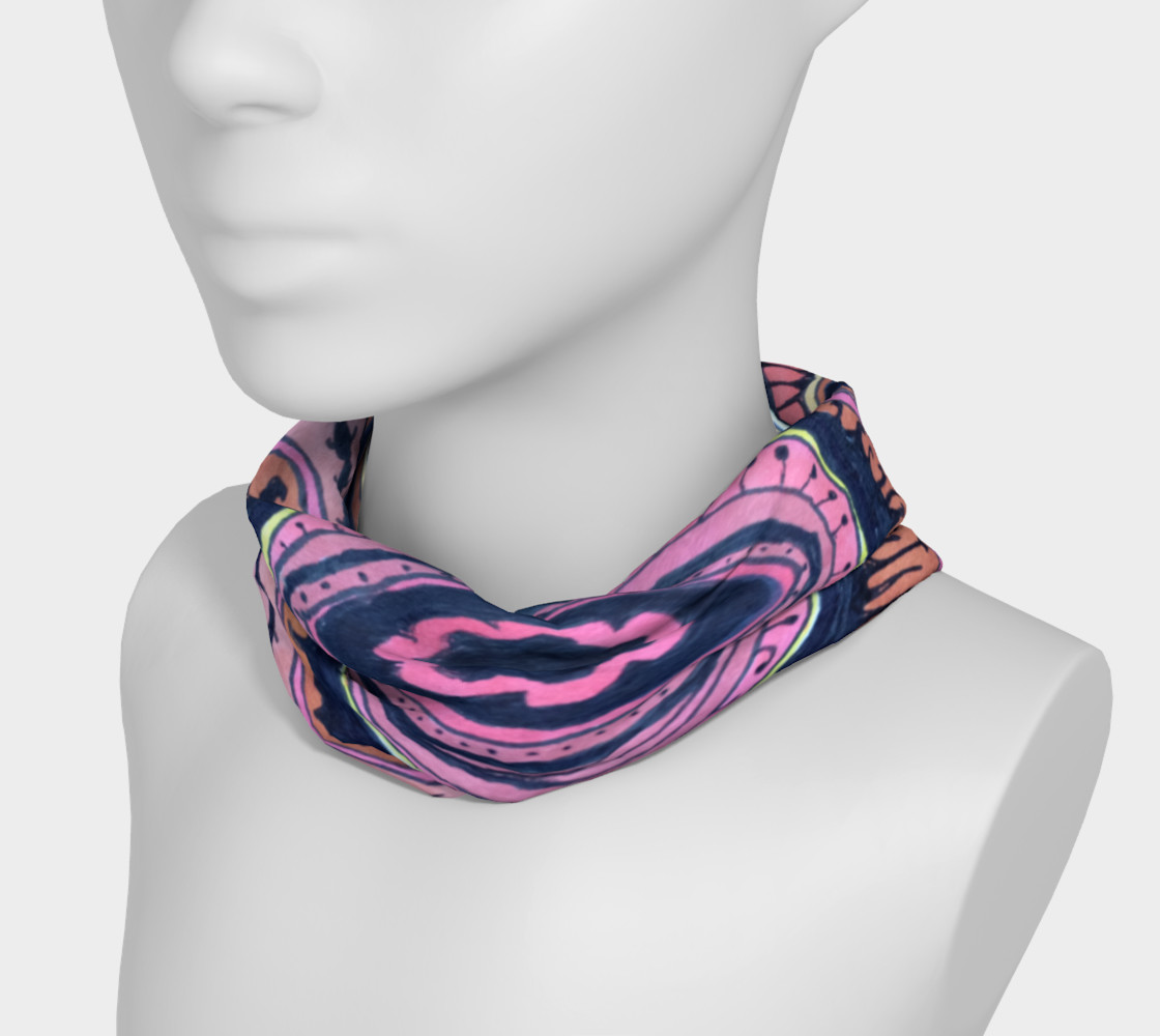 Pink Wave Headband preview #3