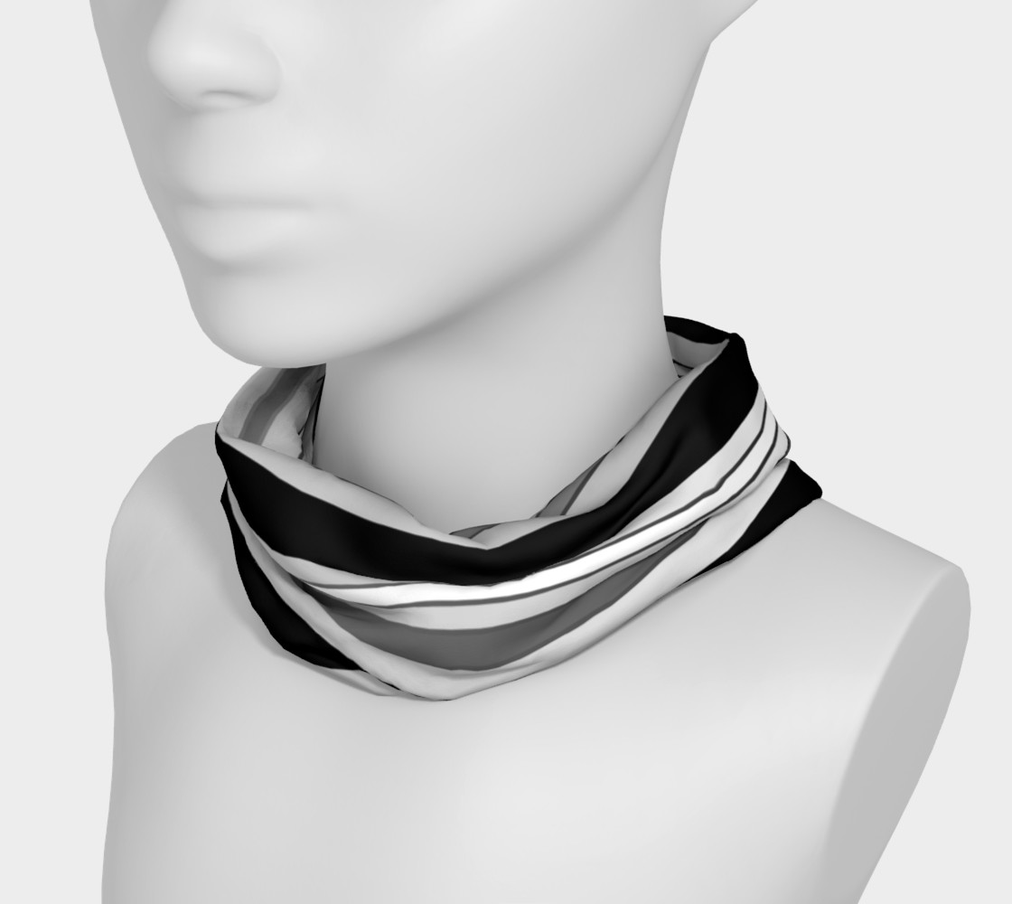 Ombre Stripes in Black, White and Gray preview #3