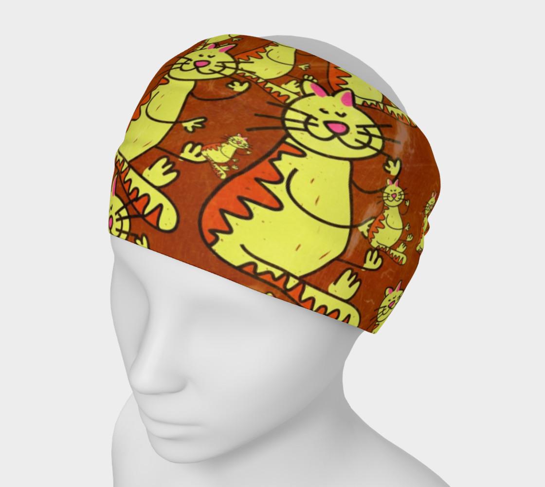 Stranger Kitties Headband preview #1
