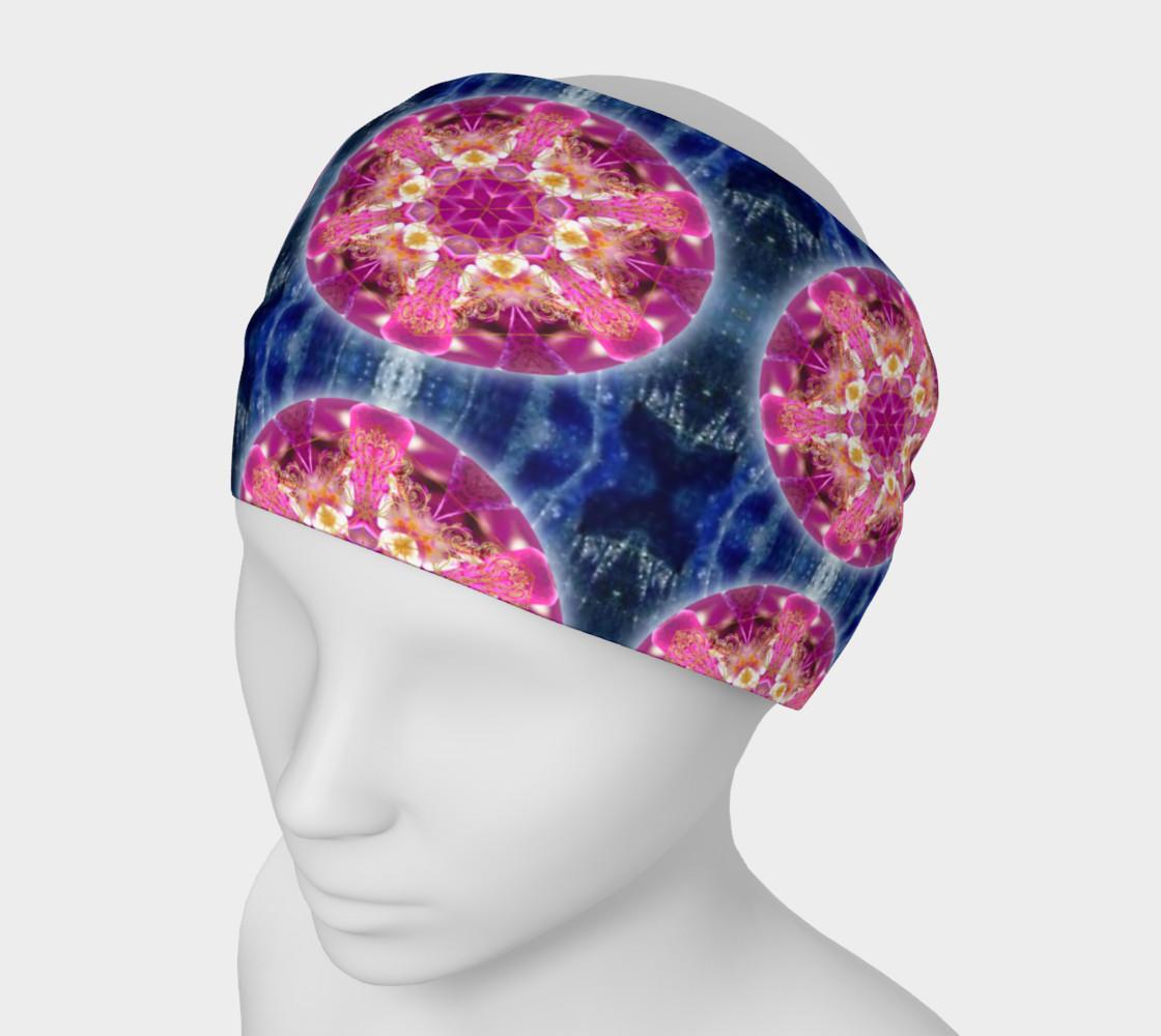 Cosmic Love Mandala Headband & Face Covering preview #1