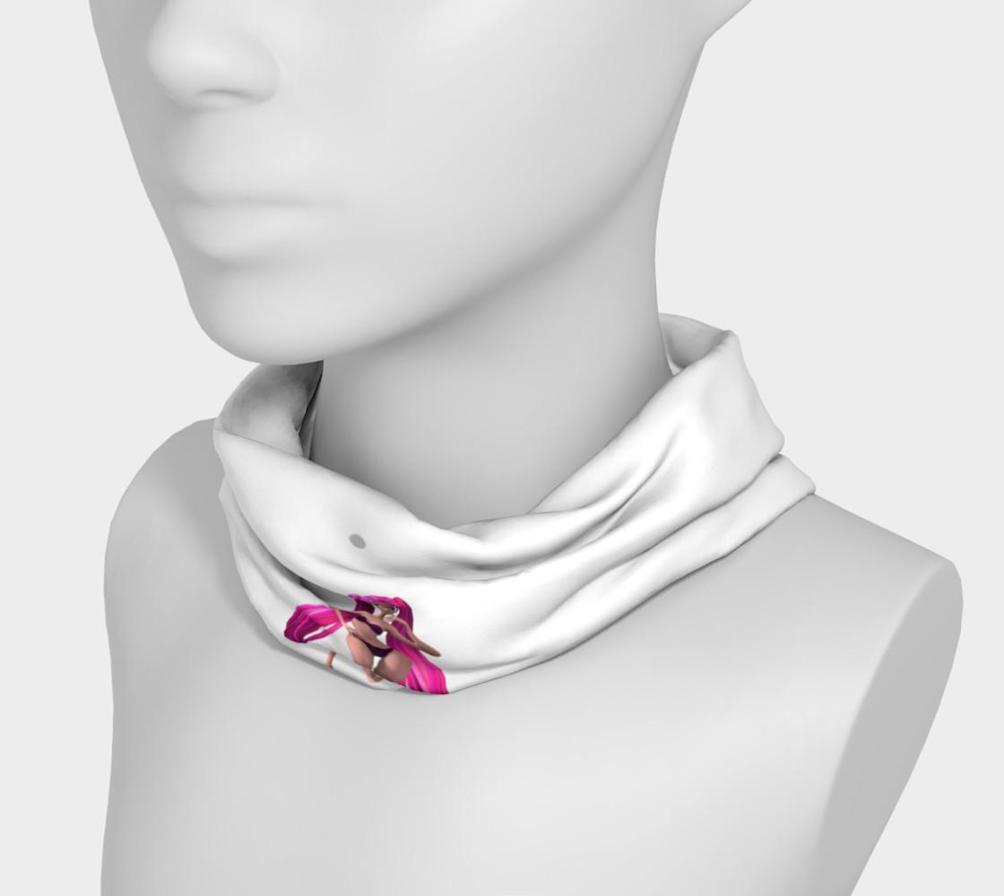 Purple Hair Anime Girl Headband preview #3