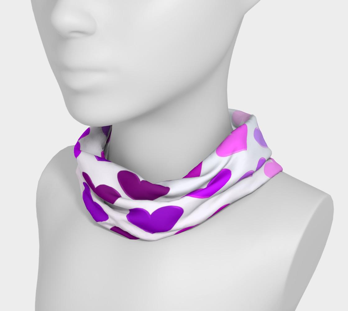 Purple Hearts Headband preview #3