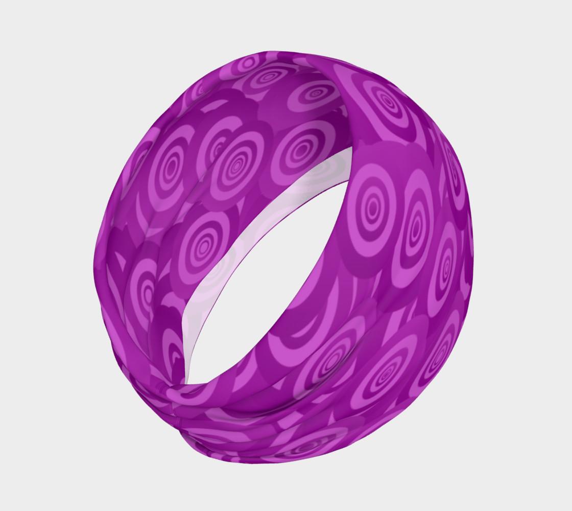 Purple Swirl Headband preview #2