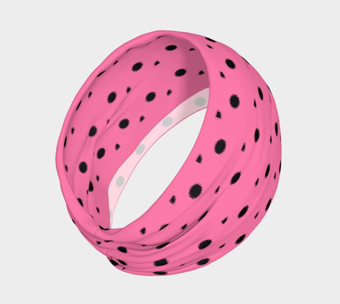 Aperçu de Tracks Bubble Gum Headband #2