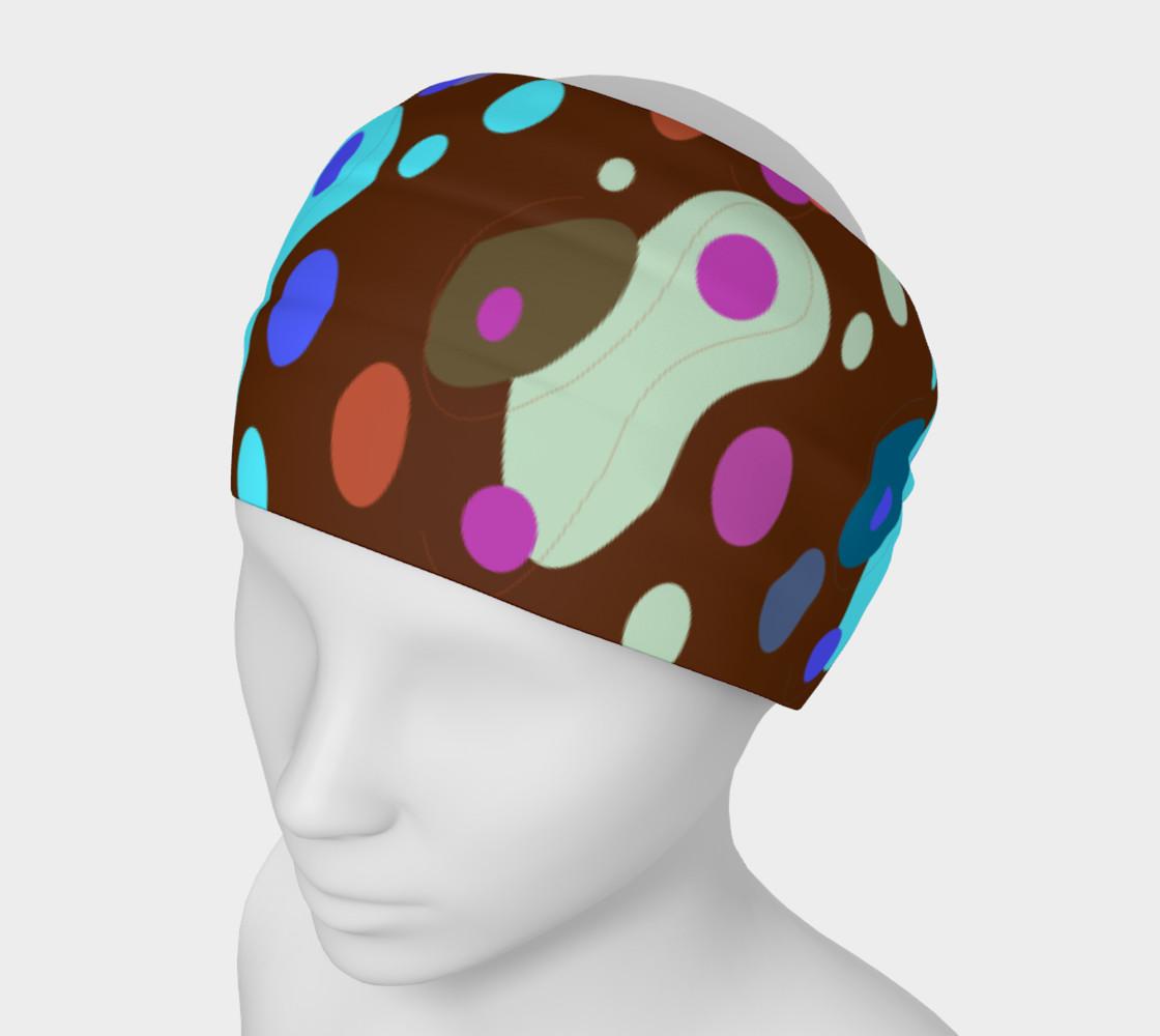 Headband design Blocks brown preview #1