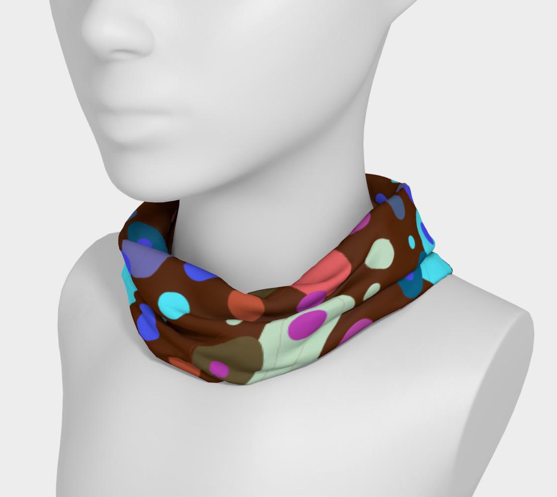 Headband design Blocks brown preview #3