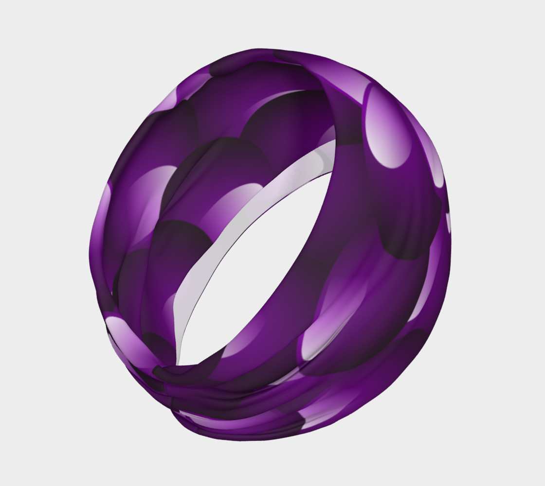 Purple Bubble Headband preview #2