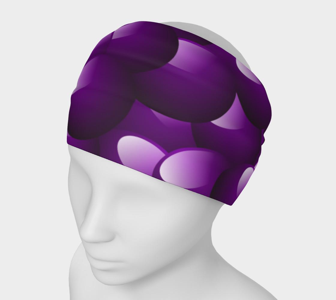 Purple Bubble Headband preview #1