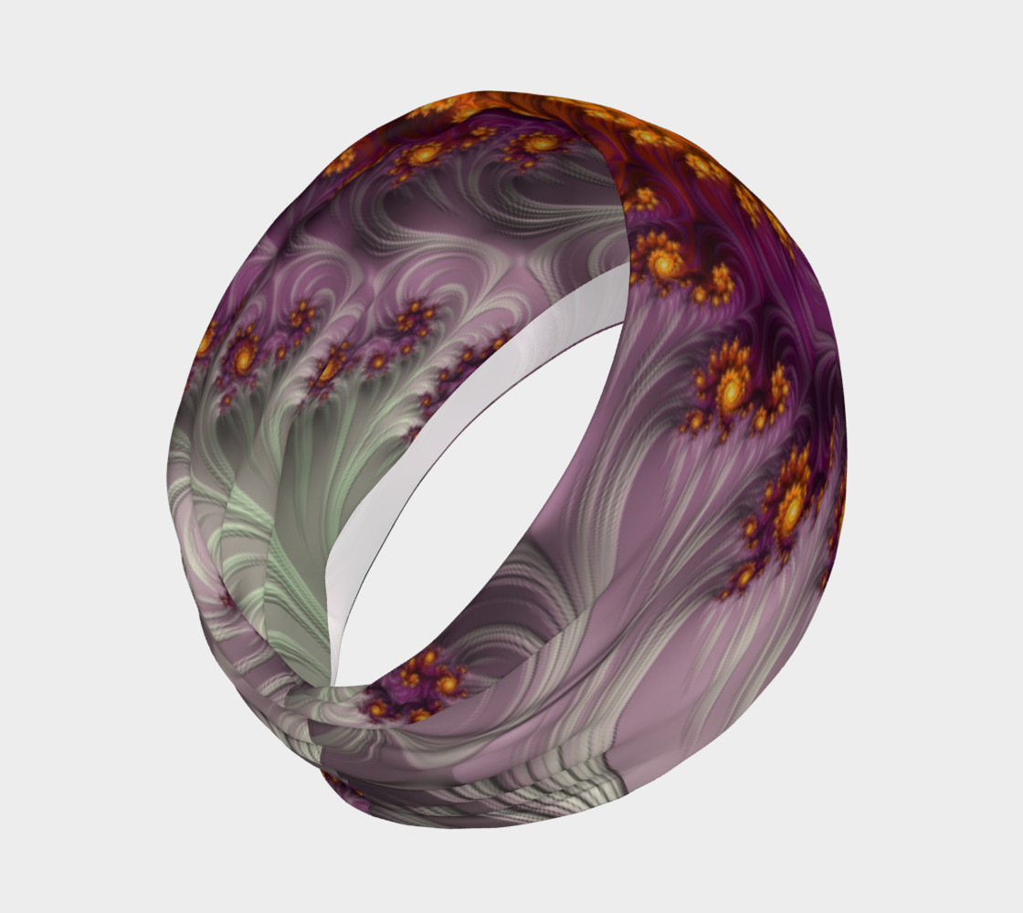 Aperçu de Saffron Frosting Headband #2