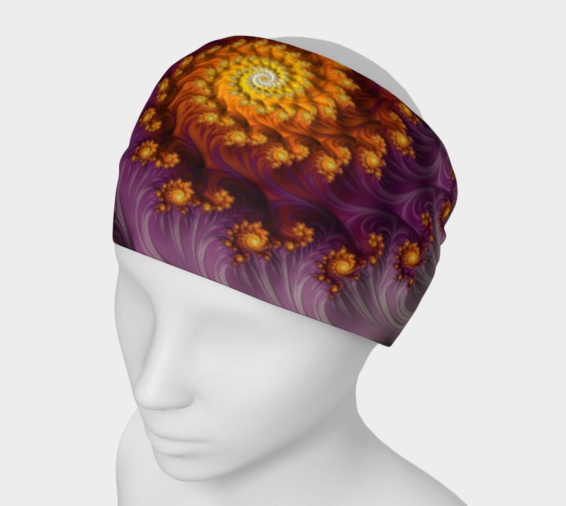 Aperçu de Saffron Frosting Headband #1