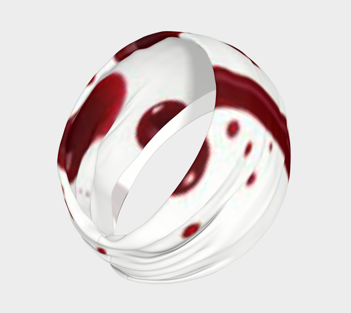 Blood Splatter four headband preview #2