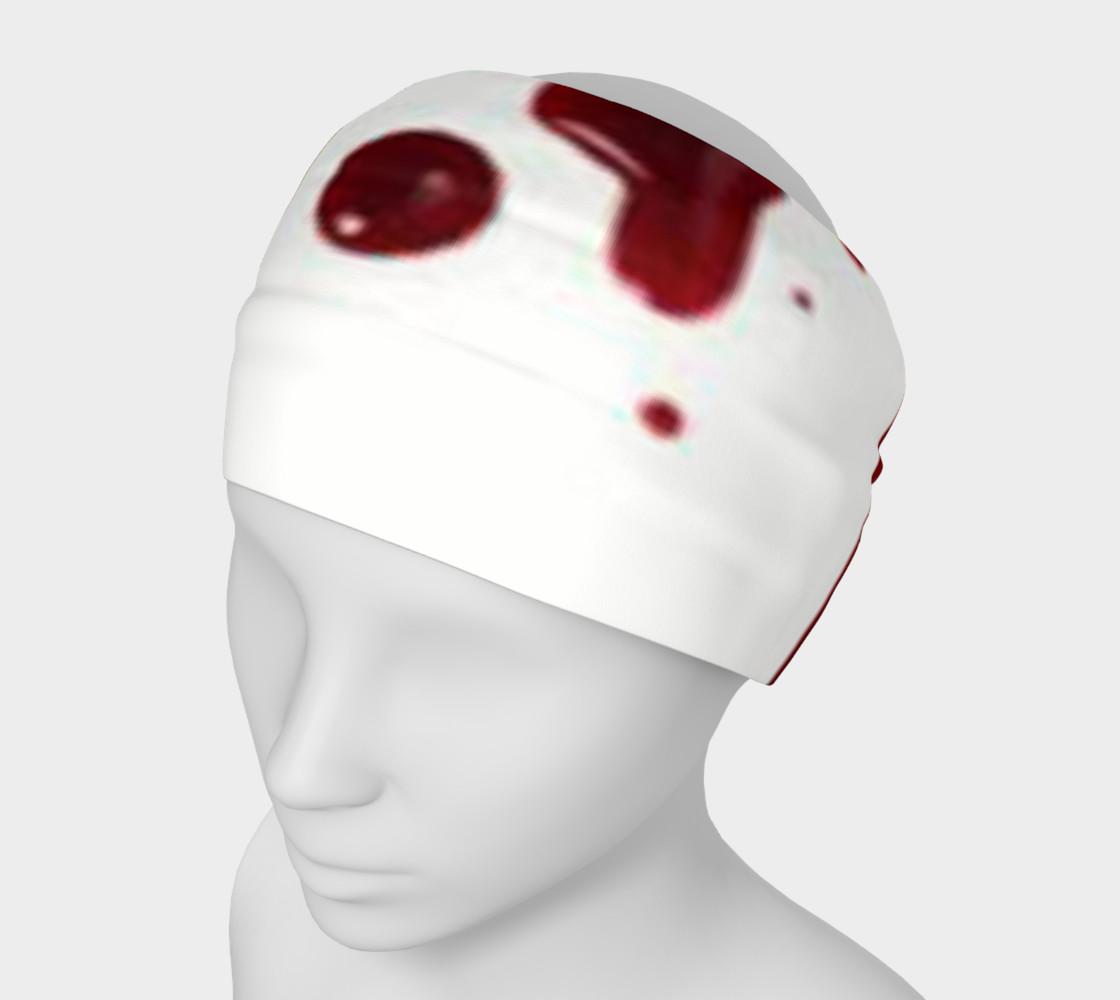 Blood Splatter four headband preview #1
