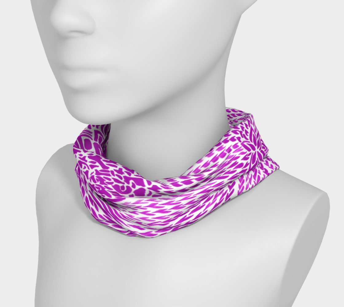 Aperçu de fuschia-fantasy-headband #3