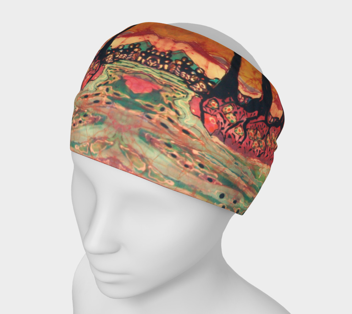 River Sunrise Headband preview #1