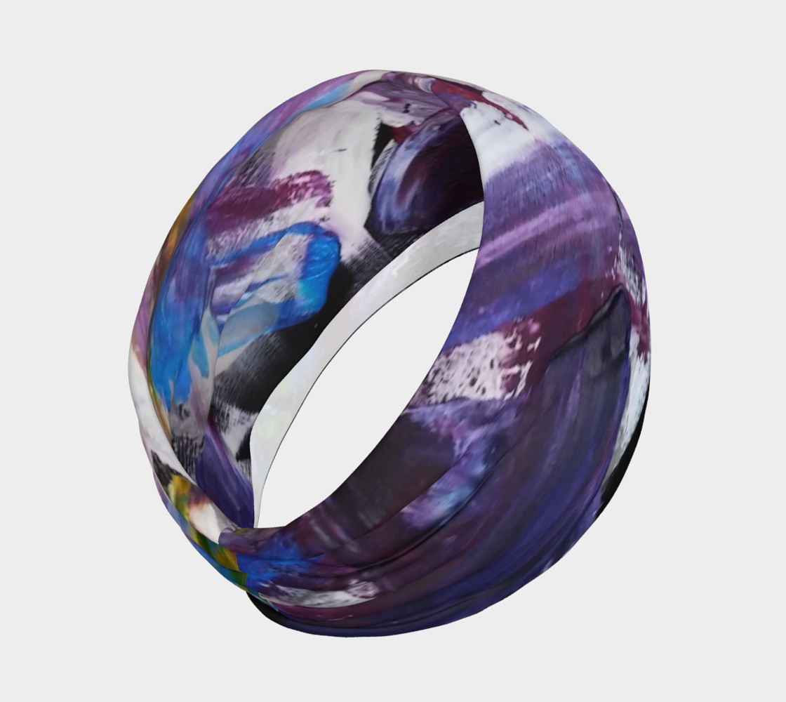 Headband or Scarf: Energy Shift Swooshes by Janet Gervers preview #2