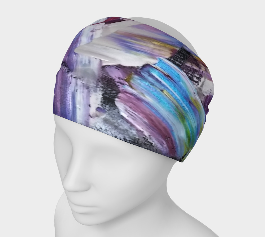 Headband or Scarf: Energy Shift Swooshes by Janet Gervers preview #1