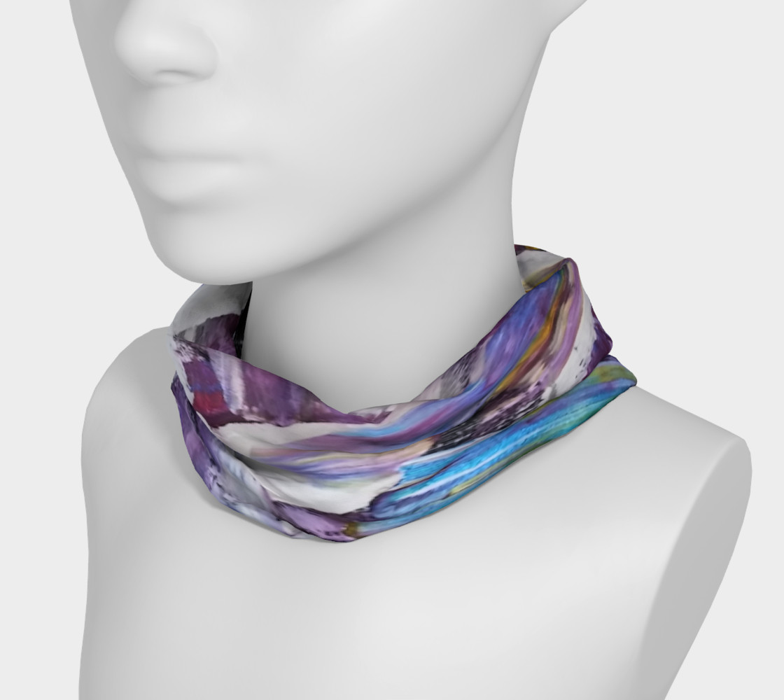 Headband or Scarf: Energy Shift Swooshes by Janet Gervers preview #3