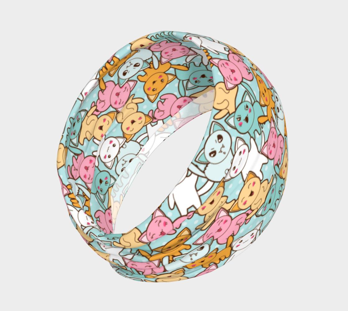 Aperçu de Kawaii Mood Kitties Headband #2