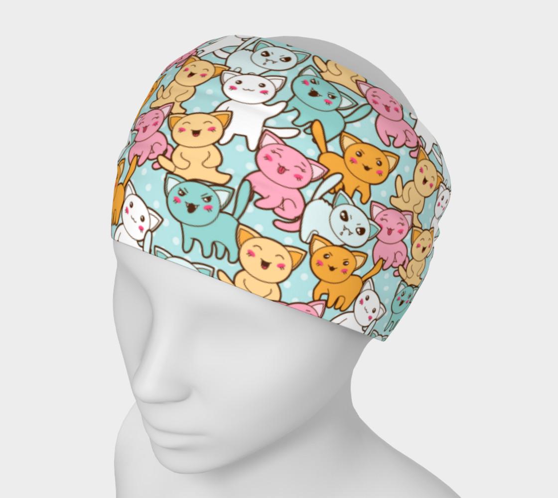 Aperçu de Kawaii Mood Kitties Headband #1