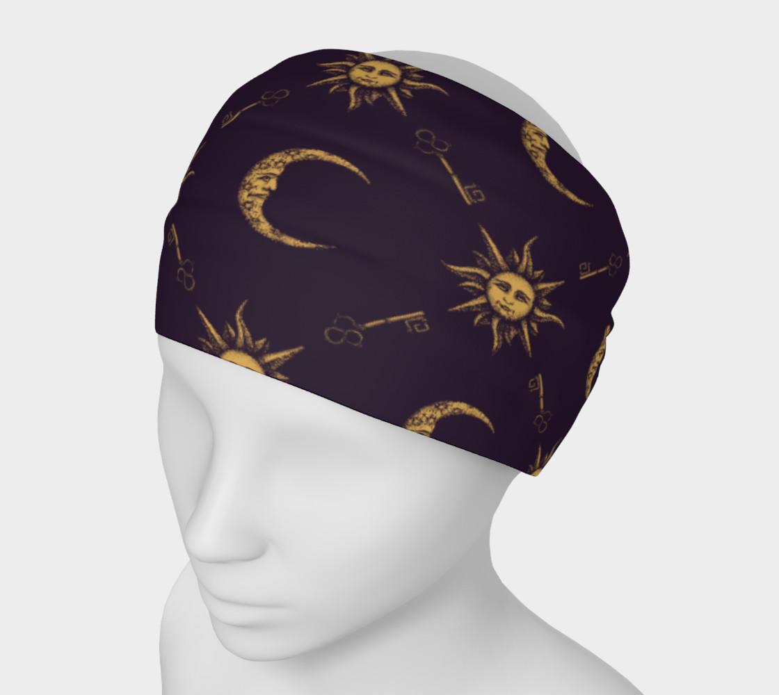 Aperçu de Sun & Moon Headband #1