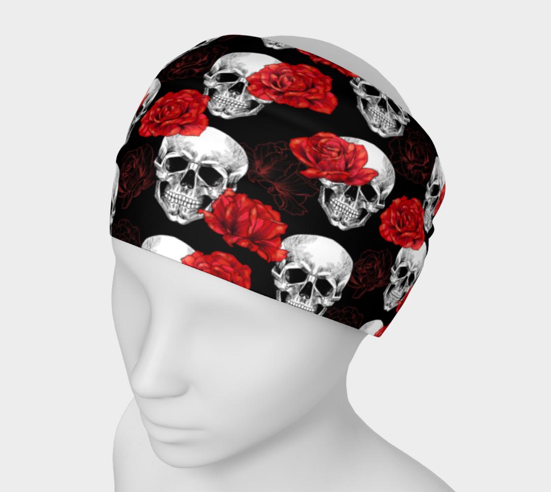 Skull & Rose Headband preview #1