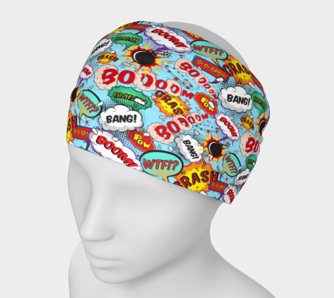 Comic Balloon Headband preview #1