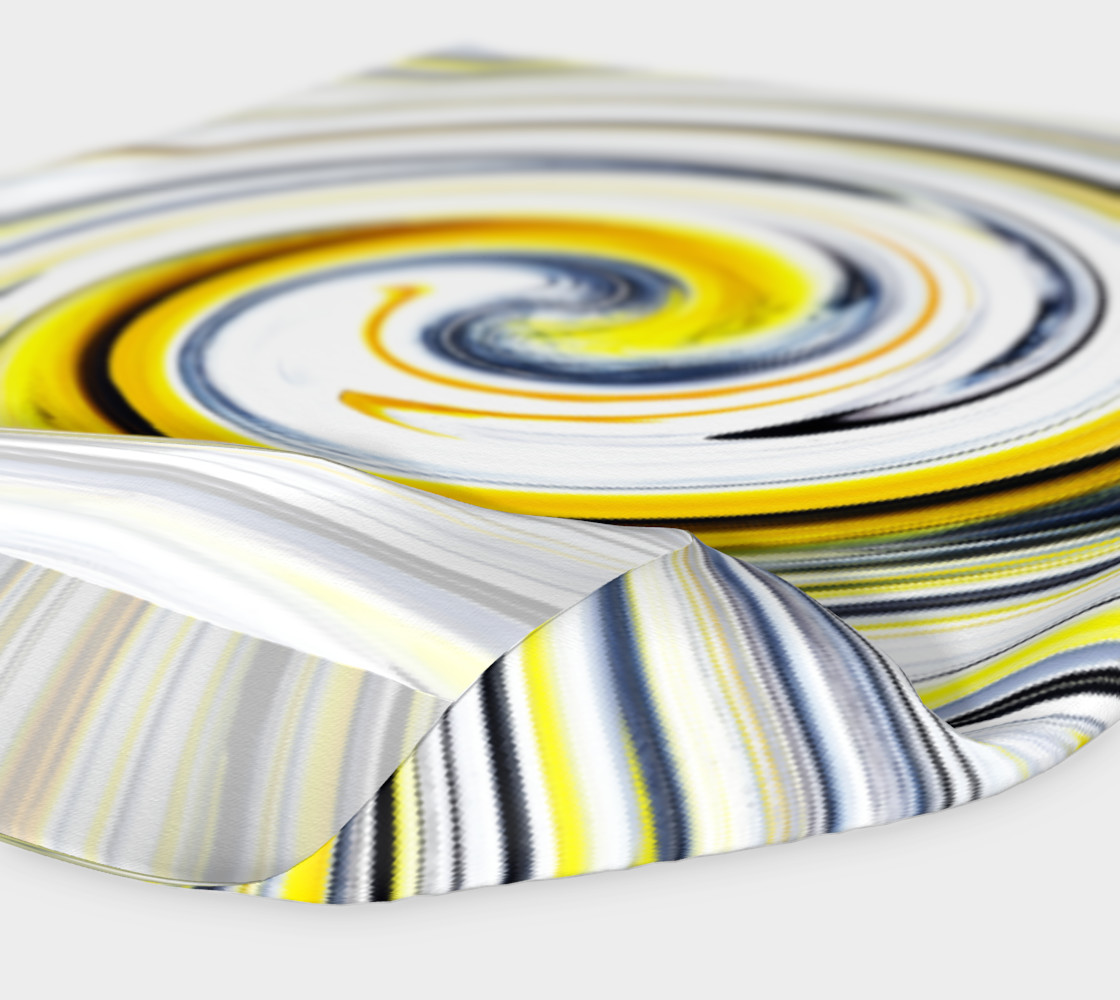 Yellow And Black Funky Swirl preview #4