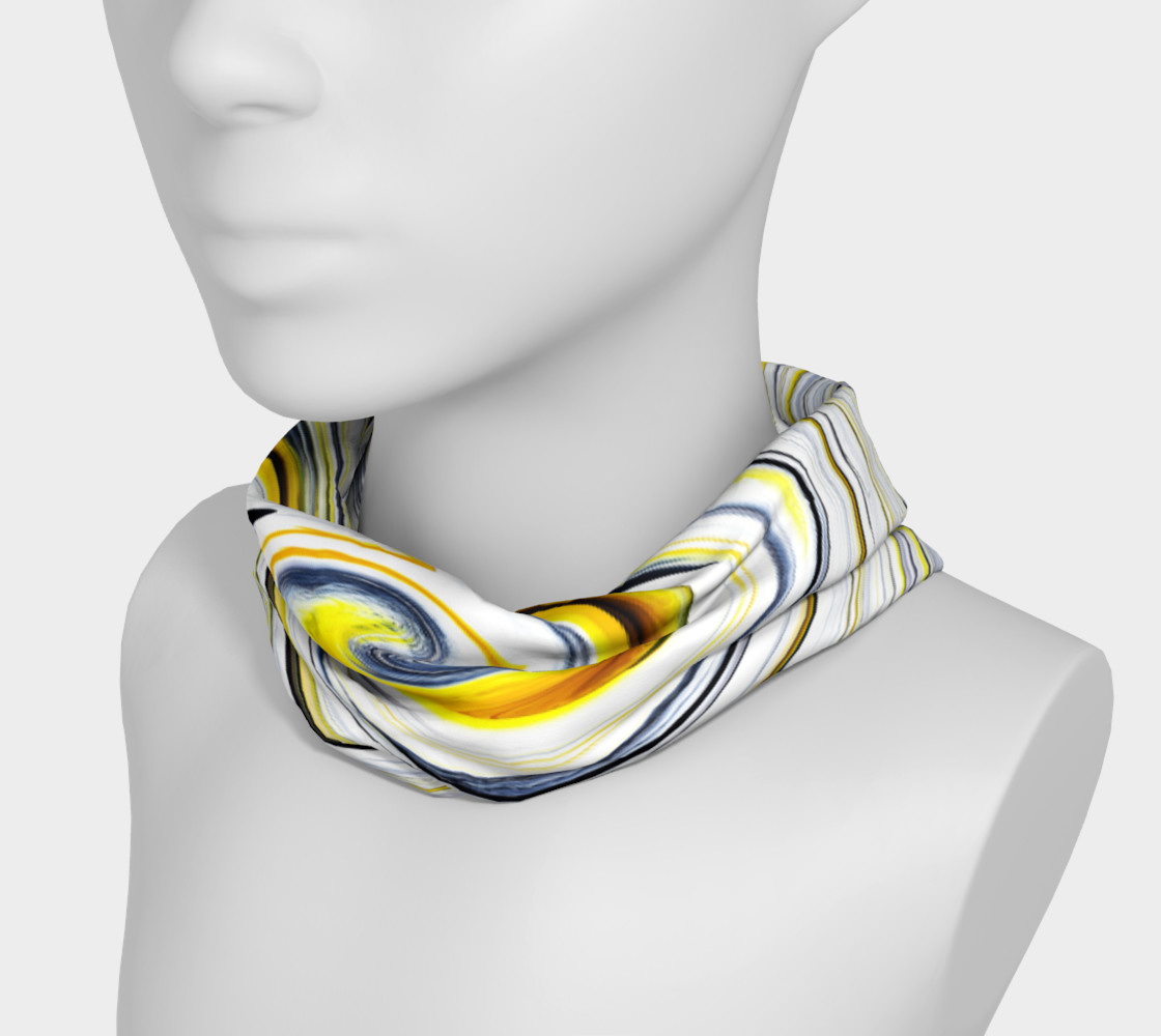Yellow And Black Funky Swirl preview #3