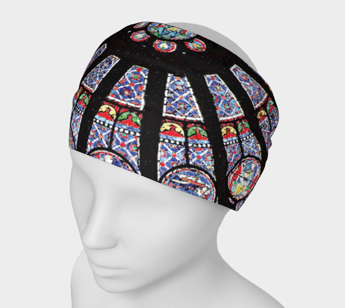 Rose South Window, Notre Dame Paris Headband preview #1