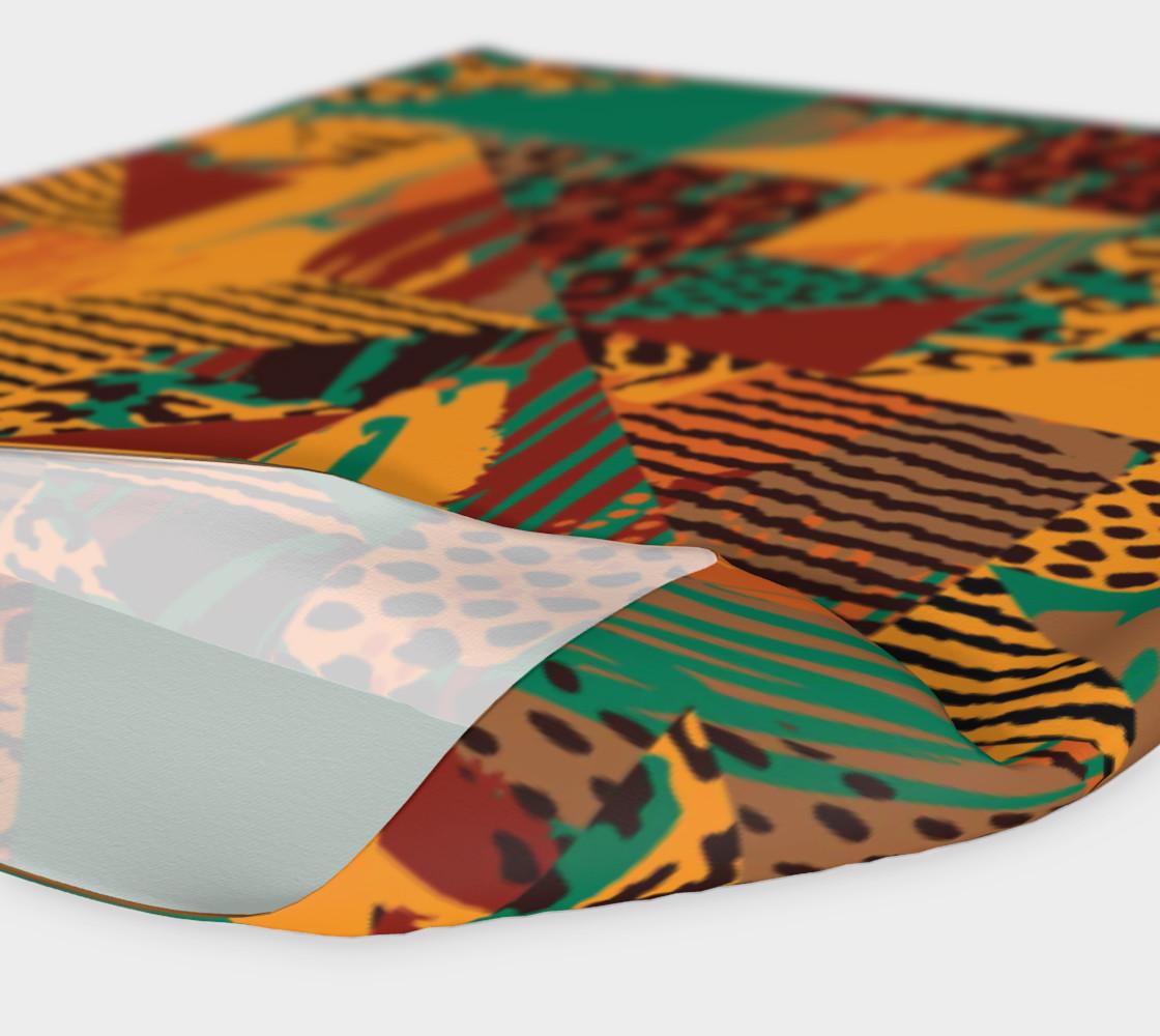 Abstract Safari Print Headband preview #4