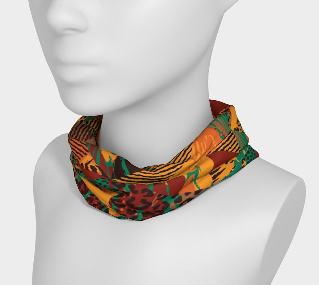 Abstract Safari Print Headband preview #3