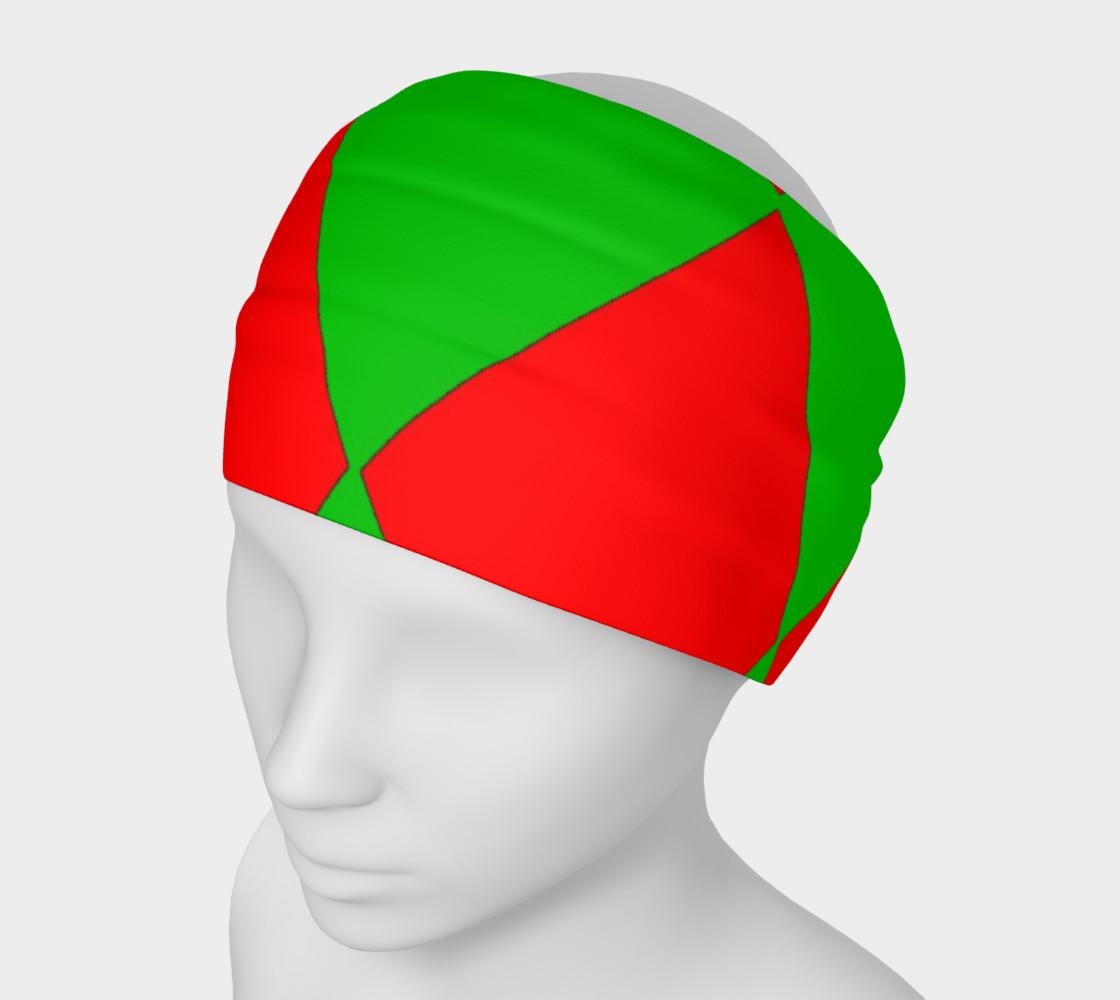 Christmas Harlequin Diamond Headband preview #1