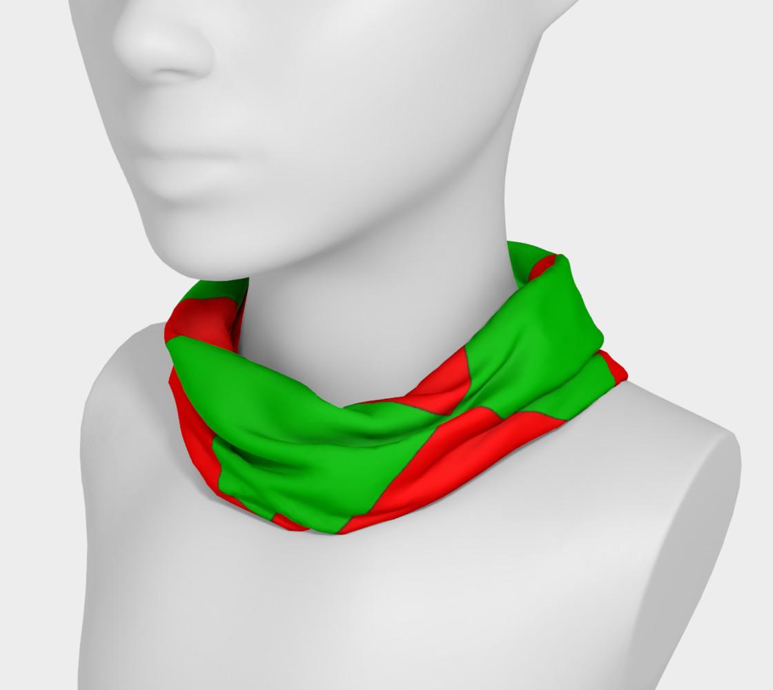 Christmas Harlequin Diamond Headband preview #3