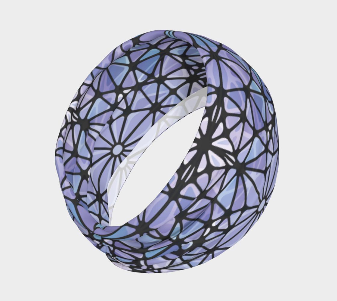 Purple and Blue Kaleidoscope Headband preview #2