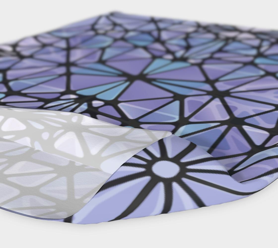 Purple and Blue Kaleidoscope Headband preview #4