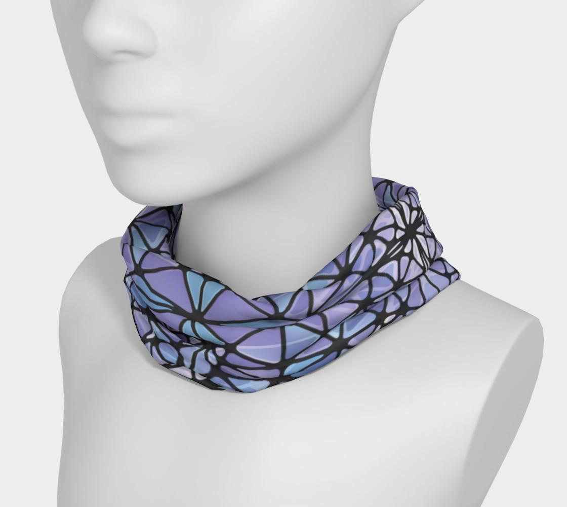 Purple and Blue Kaleidoscope Headband preview #3