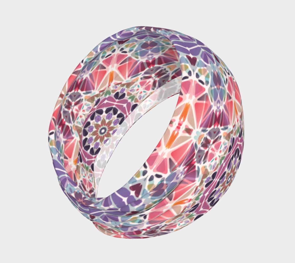 Purple and Pink Kaleidoscope Headband preview #2