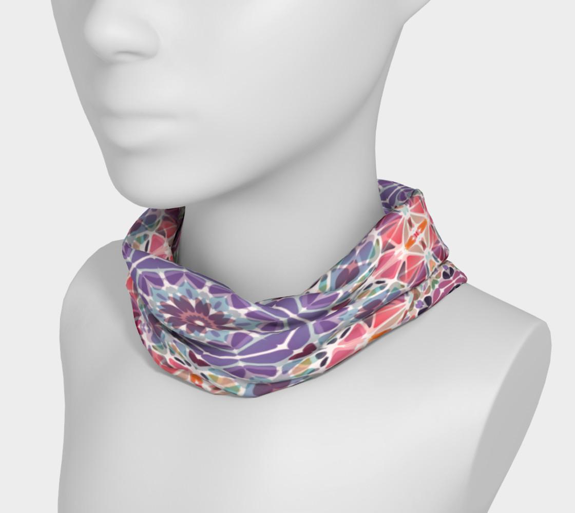 Purple and Pink Kaleidoscope Headband preview #3