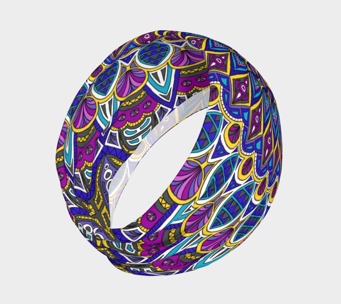 Aperçu de Sapphire Mandala Headband #2