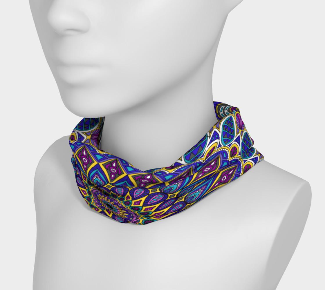 Aperçu de Sapphire Mandala Headband #3