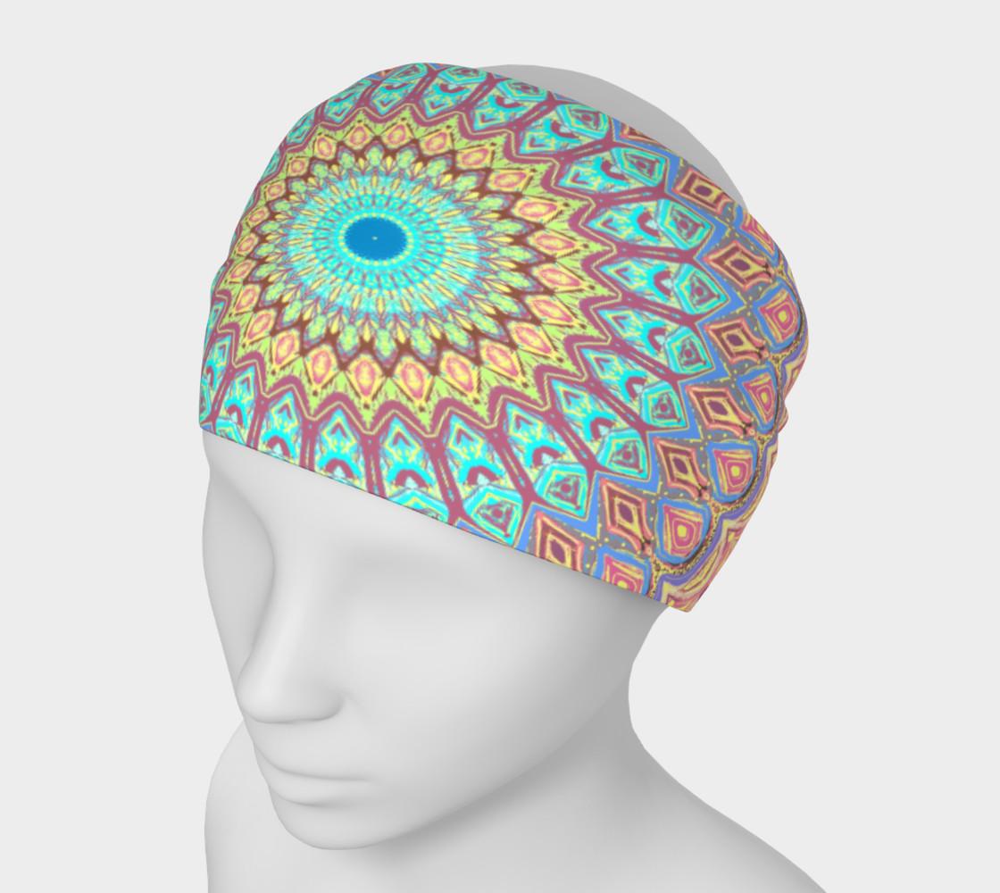 Aperçu de Jewel Mandala Faded Headband #1